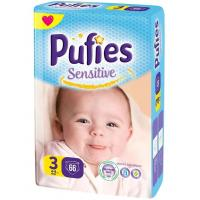 PUFIES pelene sensitive 3 66kom