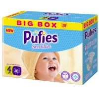 PUFIES pelene sensitive BOX 4 88kom