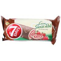 Rolat 7 DAYS Swiss roll strawberry 200g