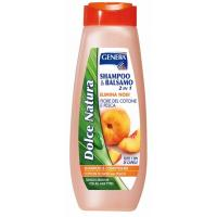 Šampon GENERA Cotton & peach 500ml