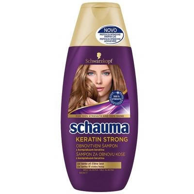 Šampon SCHAUMA Keratin strong 250ml