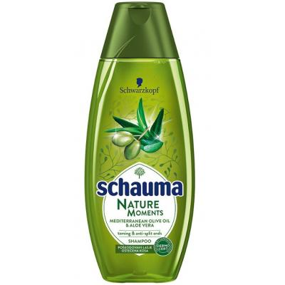 Šampon SCHAUMA Nature moments oil&aloe vera 400ml