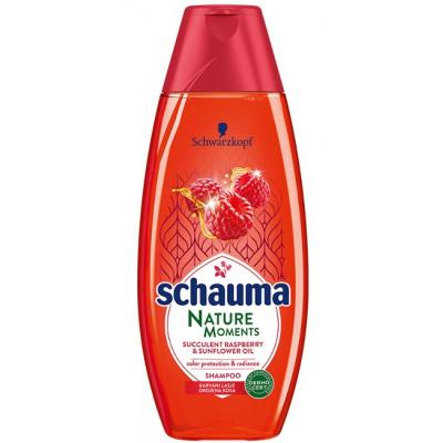 Šampon SCHAUMA Nature moments rapsberry&sunflower 400ml
