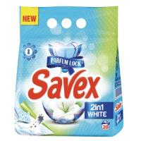 SAVEX white brilliant 20 pranja (2kg)