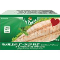 Skuša LA PERLA fileti 115g