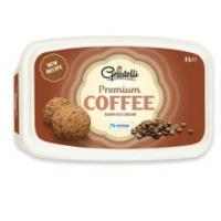 Sladoled GELATELLI Premium Coffee 1l