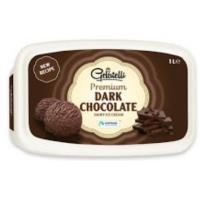 Sladoled GELATELLI Premium Dark chocolate 1l