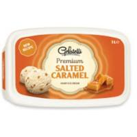 Sladoled GELATELLI Premium Salted caramel 1l