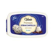 Sladoled GELATELLI Premium Stracatella 1l