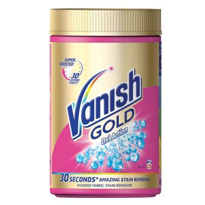 Sredstvo za fleke VANISH Gold oxi action 625g