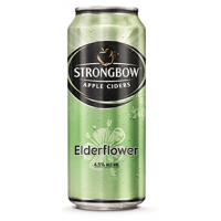 STRONGBOW limenka elderflower 400ml