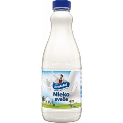 Sveze mleko SOMBOLED 2,8%mm 1l