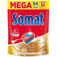 Tablete SOMAT Gold doypack 54kom