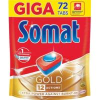 Tablete SOMAT Gold doypack 72kom