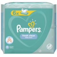 Vlažne maramice PAMPERS fresh clean 6x52kom