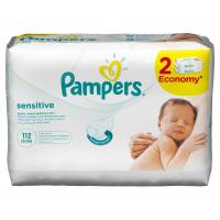 Vlažne maramice PAMPERS Sensitive 2x56kom