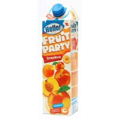 Voćni sok FRUVITA Hello Fruit party breskva 1l