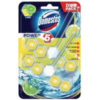 WC osveživač DOMESTOS power 5 lime 2x55g