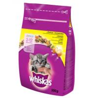 WHISKAS briketi piletina Junior 300g