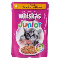WHISKAS junior živina 100g