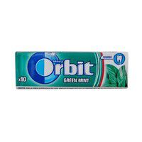 Žvake ORBIT Green mint 14g