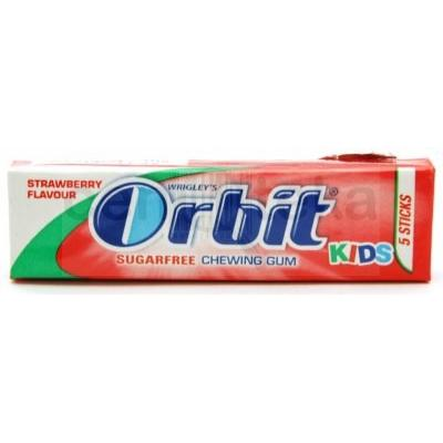 Žvake ORBIT Kids Strawberry 14g
