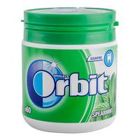 Žvake ORBIT Spearmint bočica 84g
